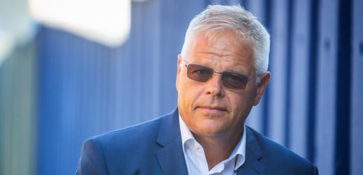 Majitel sklárny Lubor Cerva.
