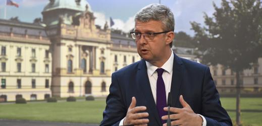 Místopředseda vlády a ministr průmyslu a obchodu Karel Havlíček.