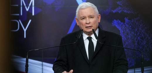 Vedoucí strany Právo a spravedlnost Jaroslaw Kaczyński.