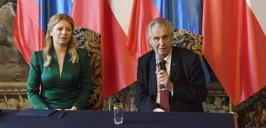 Zuzana Čaputová byla na první zahraniční návštěvě tradičně v České republice.