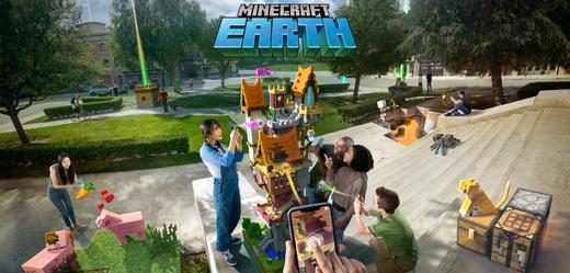 Nové video přibližuje Minecraft v augmentované realitě, můžete se hlásit do testovací verze