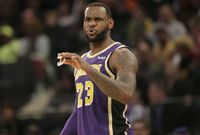 Basketbalista Los Angeles Lakers LeBron James.