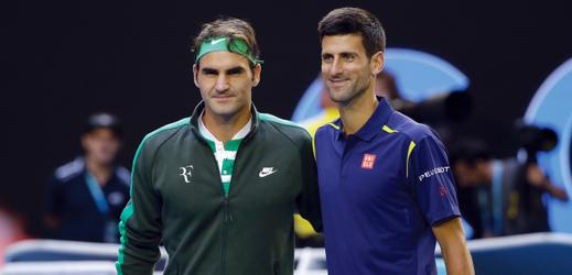 Fotografie obou finalistů pocházející z Australian Open roku 2016.