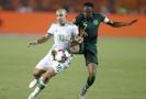 Nigerijský Oghenekaro Etebo během semifinále.