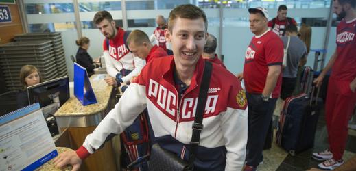 Smečař Dmitrij Volkov.