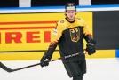 Německý hokejový obránce Moritz Seider.