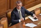 Andrej Babiš si nenechal ujít jednání ve vedení ČSSD.