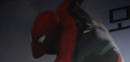 Hlavní představitel Spider-Mana Tom Holland.