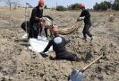 Z masového hrobu u syrské Rakky zatím vyzvedli 313 těl.