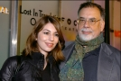 Francis Ford Coppola se svou dcerou Sofií.