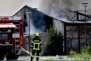 V Tursku u Prahy zasahovaly desítky hasičů.