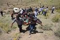Záchranná akce po nehodě minibusu v provincii Van.