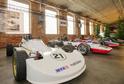 Na snímku jsou sportovní vozy Metalex vystavené v Plzni.