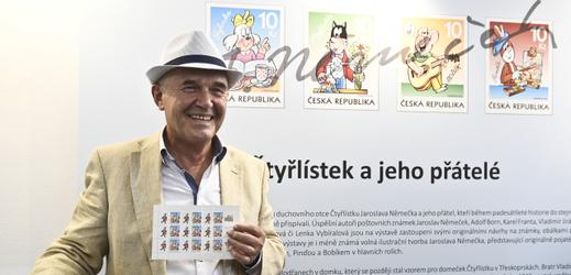 Duchovní otec Čtyřlístku Jaroslav Němeček.