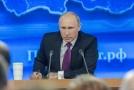 Ruský prezident V. Putin.