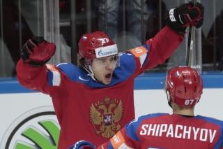 Ruský hokejista Artěmij Panarin.