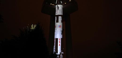 """Fotka """"rakety""""."""