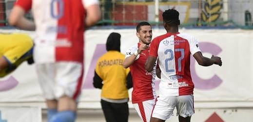 Slavia zničila Teplice, Stanciu se ukázal po pár minutách .