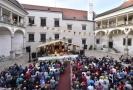 Festival Prázdniny v Telči na telčském zámku.