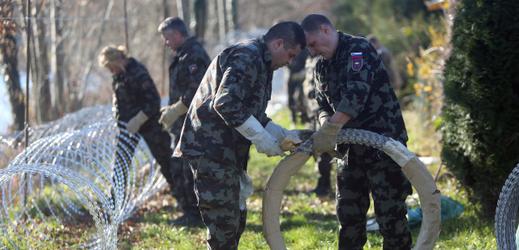 Slovinští vojáci.