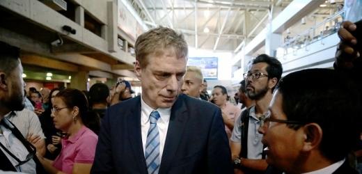 Daniel Kriener se po čtyřech a půl měsících vrátil zpět do Venezuely.
