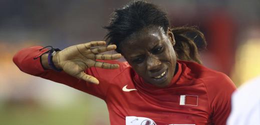 Dopingová hříšnice Kemi Adekoyaová.