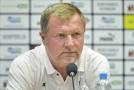 Trenér Viktorie Plzeň Pavel Vrba v Plzni na tiskové konferenci před utkáním 2. předkola fotbalové Ligy mistrů.