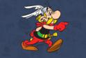 Animovaná postavička Asterixe (ilustrační foto).