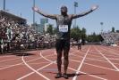 Christian Coleman vyhrál běh na 100 metrů.