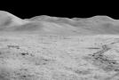 Přistávací zóna Apolla na měsíci.