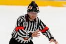 Hokejový rozhodčí Jan Hribik.