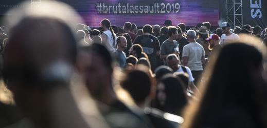 Na Brutal Assault přijelo do Jaroměře až 23 tisíc lidí.