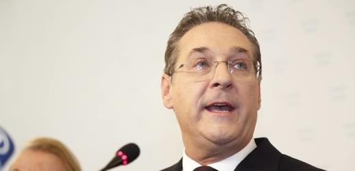 Bývalý předseda FPÖ Heinz-Christian Strache.