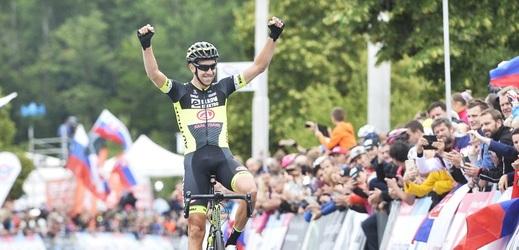 Cyklista Josef Černý se po druhé etapě posunul na třetí místo průběžného pořadí závodu Binck Bank Tour.