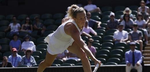 Tenistka Kateřina Siniaková na turnaji v Cincinnati poprvé v kariéře podlehla Donně Vekičové.