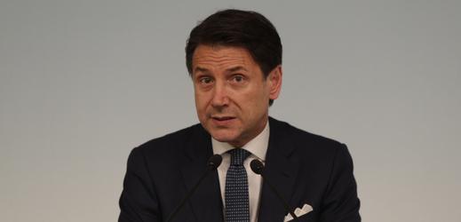 Italský premiér Giuseppe Conte.