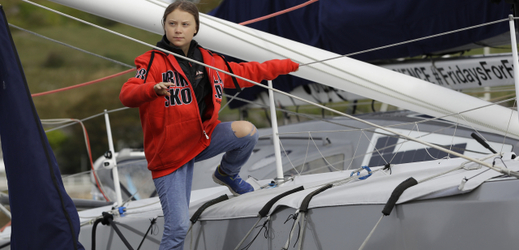 Ekologická aktivistka Greta Thunbergová.