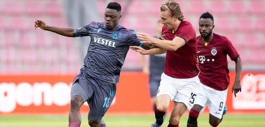 Sparta s Trabzonsporem v úvodním duelu remizovala na prázdné Letné 2:2.