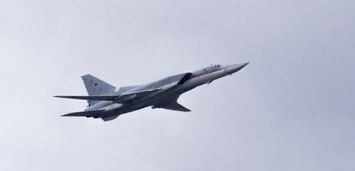 Ruský bombardér Tu-22.