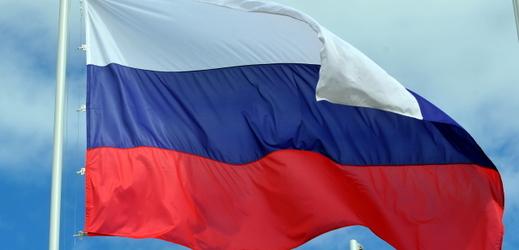 Vlajka Ruska.