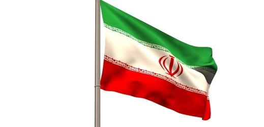 Vlajka Íránu.