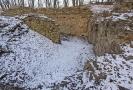 Zřícenina hradu u Kunratic.