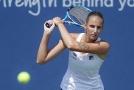 Tenistka Karolína Plíšková postoupila po vybojované výhře nad Švédkou Rebeccou Petersonovou do čtvrtfinále turnaje v Cincinnati.