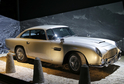 Vůz Jamese Bonda Aston Martin DB5.