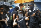 V Hongkongu se v sobotu konají dvě demonstrace naráz.