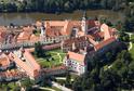 Město a zámek Telč.