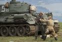 Ukázka na vojensko-historické akci Cihelna v Králíkách na Orlickoústecku představila 17. srpna 2019 těžké osvobozovací boje na Ostravsku na jaře roku 1945.