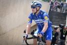 Český cyklista Zdeněk Štybar z týmu Deceuninck-Quick Step se představí na Vueltě.