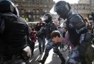 Demonstrace v Moskvě.