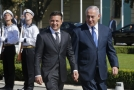 Volodymyr Zelenskyj a Benjamin Netanjahu.